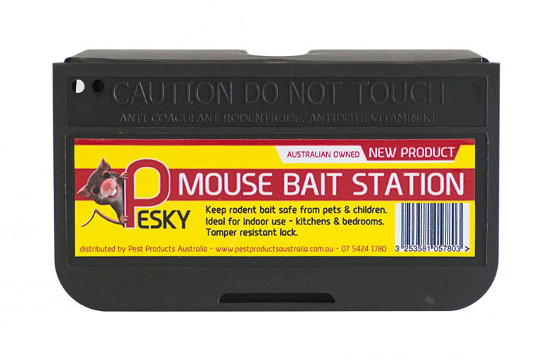 PESKY MOUSE BAIT STATIONS