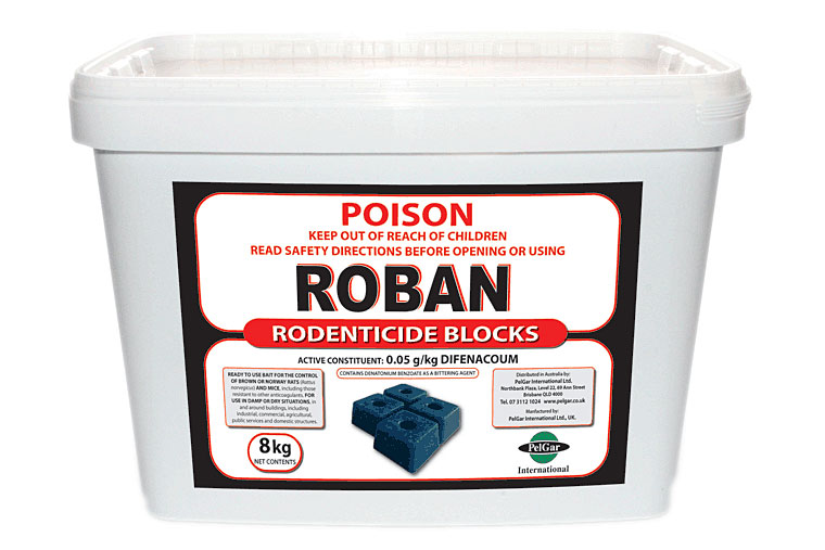 ROBAN RODENTICIDE BLOCKS OR PASTE